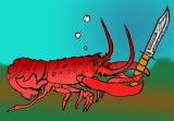 Knife-Fighting Lobster